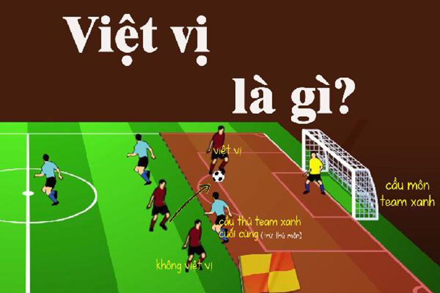 Tìm hiểu về lỗi việt vị trong bóng đá