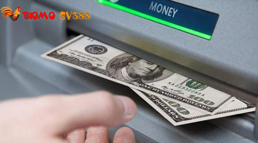 Rút tiền ThomoSV388 về tài khoản ngân hàng cá nhân